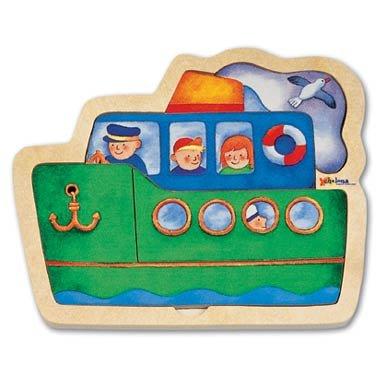 Ship Mini Wooden Puzzle