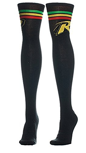 DC Comics Batman - Robin Logo Knee High Women's Socks