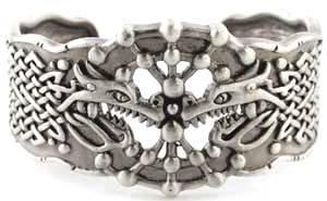 Celtic Dragon Bracelet Women's Men's Jewelry