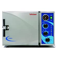 Heidolph Tuttnauer Autoclave Sterilizer Analog Model with Stainless Steel Trays