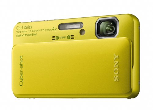 Sony Cyber-Shot DSC-TX10 16.2 MP Waterproof Digital Still Camera with Exmor R CMOS Sensor, 3D Sweep Panorama, and Full HD 1080/60i Video (Green) Special Offers