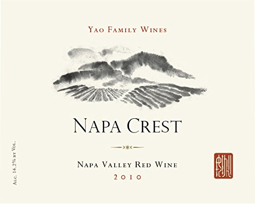 2010 Yao Family Wines Napa Crest Napa Valley Red Wine 750 Ml