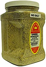 Marshalls Creek Spices Family Size Greek No Salt Seasoning 44 Ounce