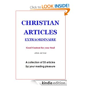 Christian Articles Extraordinaire