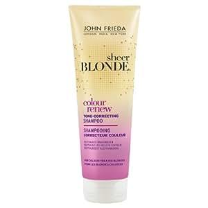 John Frieda Sheer Blonde Colour Renew Tone Correcting Shampoo 250ml