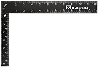 "Kapro 305-12 Steel Carpenter Square, 8"" x 12"""