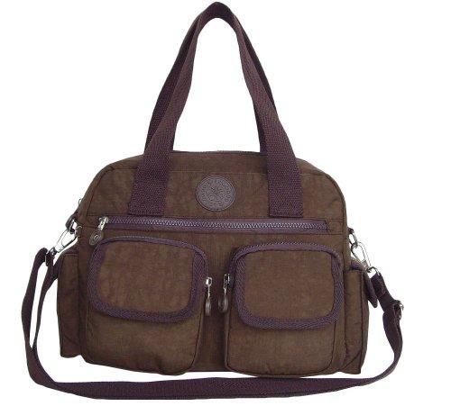 LOLOGOO FAIRFAX, Damen Schultertaschen/Handtasche