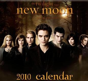 New Moon 2010 Movie Calendar