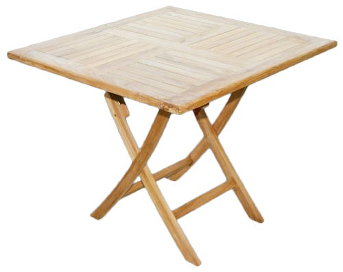 KMH®, Klapp-Tisch – ECHT TEAK! (80 x 80cm) (#102066) online bestellen