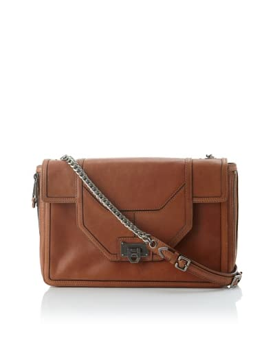 Rebecca Minkoff Women's Allie Convertible Handbag with Zippered Gussets  - Luggage