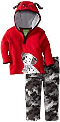Watch Me Grow! by Sesame Street Baby Boys' Pullover Hood And Camo Pant