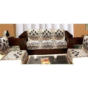 Zesture 6 piece sofa and chair cover set (multicolor)