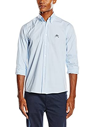 Polo Club Camisa Hombre Academy (Azul Celeste)