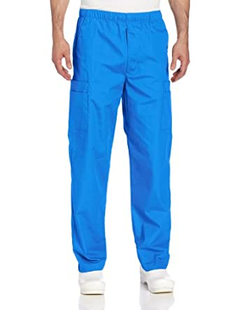 Landau Men's Cargo Pant, Royal Blue, Medium