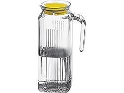 Pasabahce Refrigerator Frigo Jug , 1 Litre, Transparent (80050)