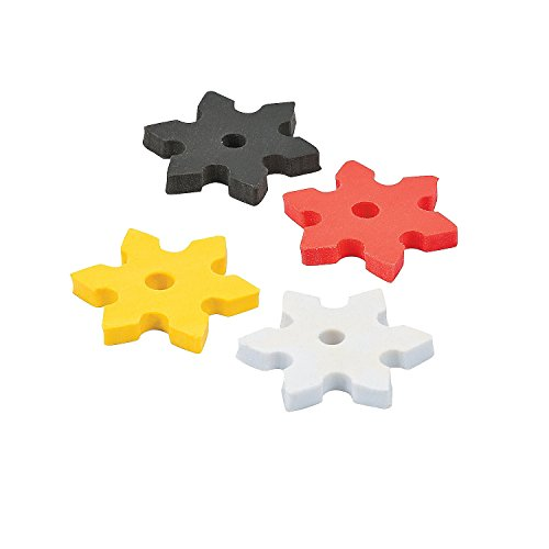 Fun-Express-Ninja-Star-Erasers-24-Piece