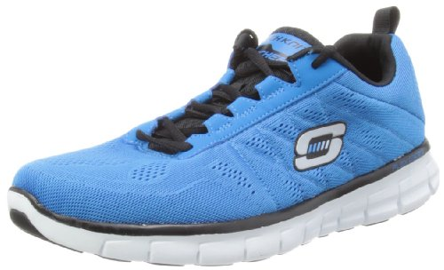 Skechers SynergyPower Switch, Sneakers Uomo, Blu (BLBK), 41 EU