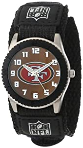 Game Time Mid-Size NFL-ROB-SF Rookie San Francisco 49Ers Rookie Black Series Watch
