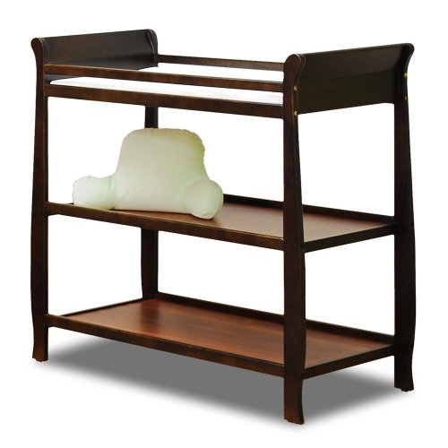 Baby Mile Hannah Changing Table , Espresso front-955939