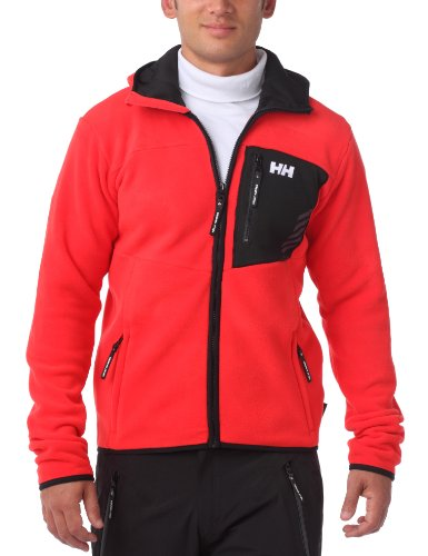 Helly Hansen Men's Swift Fleece Jacket - Red, Small