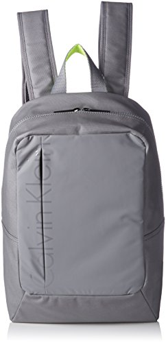 Calvin Klein JeansLOGAN BACKPACK - Borse a Tracolla Uomo , Grigio (Grau (ICE WATER 093 093)), 29x46x17 cm (B x H x T)