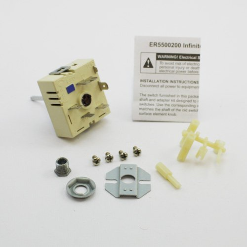 Replacement Jenn Air Infinite Switch (Top Burner Switch) 700855K front-303660