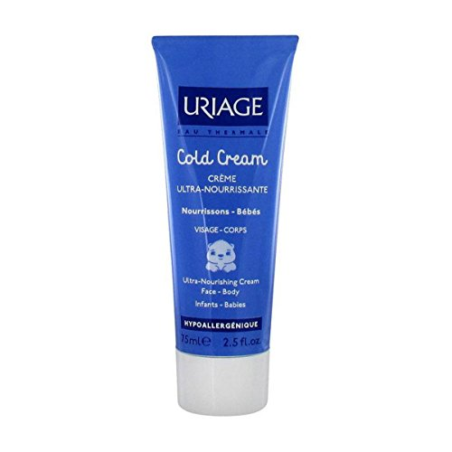 Uriage Cold Cream Ultra-nourishing Cream for Infants and Babies 75 Ml Tube - 1
