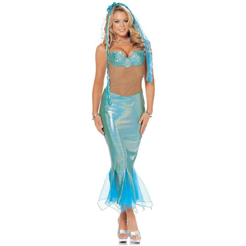 Sexy Mermaid Costume - Small/Medium - Dress Size 8-10