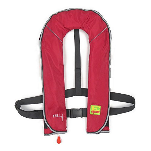 Life vests (red) defend for life YSHG life jacket automatic inflatable best-150 kg