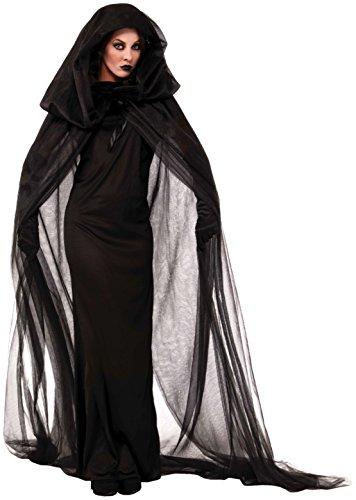 Forum Novelties Women's The Haunted Costume, Black, Standard
