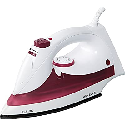 Havells Aspire 1250-Watt Steam Iron (Red)