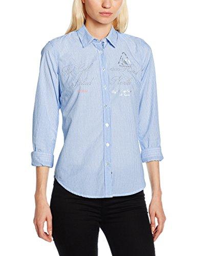Gaastra Cutwater WN, Camicia Donna, Blu (Arctic Sea M41), 36 Inches (Taglia Produttore: S)
