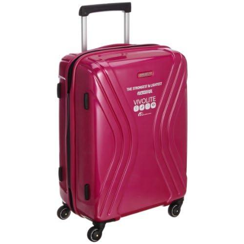 [アメリカンツーリスター] AmericanTourister VIVOLITE  /  ビーボライト スピナー62cm (スーツケース・キャリーケース・トラベルバッグ・TSAロック装備・大容量・軽量・ジッパー・ポリプロピレン・保証付)