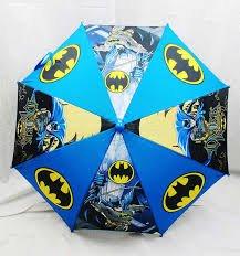 """Umbrellaworld-Ombrello Batman, motivo """"Justice League"""" Action Hero-Ombrello per bambini Ombrello Batman in 3d"""