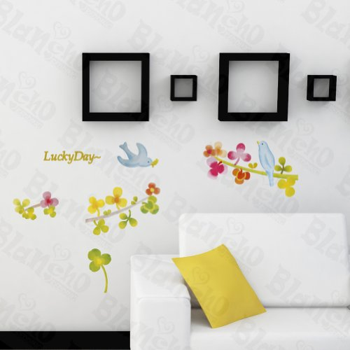 Lucky-Day-Hemu-Wall-Stickers-Autocollants-Appliques-dcoration-5994-126-cm