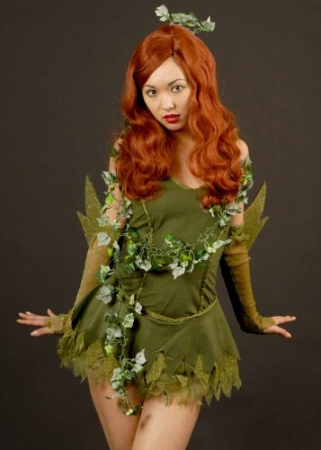 Sexy Poison Ivy Super Villian Costume