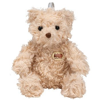 Ty Jingle Beanie Baby - Herschel The Bear (Cracker Barrel Exclusive) back-963842