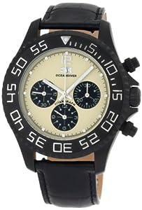3H Orologio da Donna CH4N Tintangraph titanio PVD nero cronografo cinturino intercambiabile