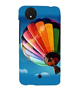 printtech Hot Air Balloon Colored Back Case Cover for Micromax Android A1::Micromax Canvas A1 AQ4502