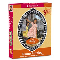 American Girl Frame Puzzle ~ Addy - 1