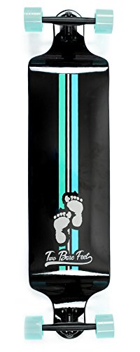 tbf-stealth-rider-drop-down-longboard-skateboard-4125-x-975-complete-cruiser-black-mint
