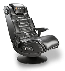 X Rocker 51396 Pro Series Pedestal 2.1 Video Gaming Chair, Wireless by X Rocker