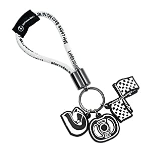 Mercedes benz motorsports key chain key chains amazon for Mercedes benz key chain