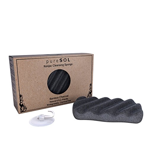 puresol-konjac-body-sponge-activated-charcoal-body-sponge-100-natural-sponge-eco-friendly-gentle-exf