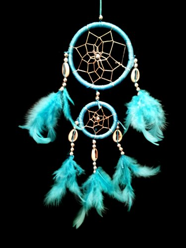 Dream Catcher with Feathers-lb2r- Wall or Car Hanging Ornament (With a Betterdecor Gift Bag)