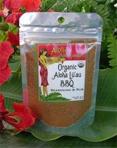 Hawaii Aloha Spice Organic Luau BBQ Seasoning & Rub