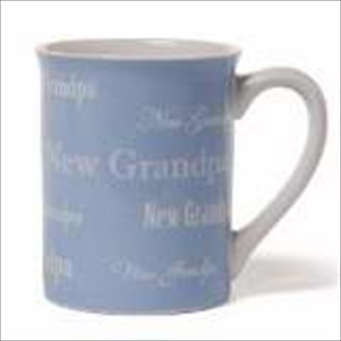 Gund 128386 Mug New Grandpa Blue White