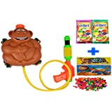 Darling Toys Holi Combo Pack (1 Water Gun+2 Herbal Gulal+1 Pack Balloon) - B01CA8LHHY