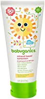 Babyganics Mineral Based Sunscreen - SPF 50+ - Fragrance Free