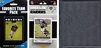 NFL Oakland Raiders Licensed 2013 Score Team Set and Favorite Player Trading Card... by C&I Collectables